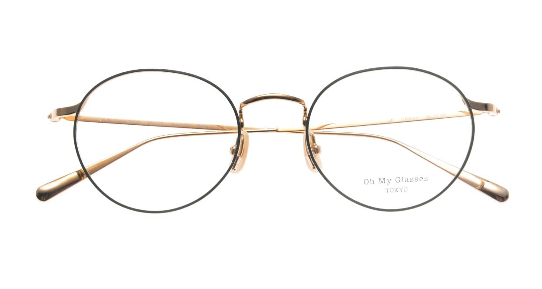 Oh My Glasses TOKYO Monica-50-omg-112-GR [メタル/鯖江産/丸メガネ/緑]  4