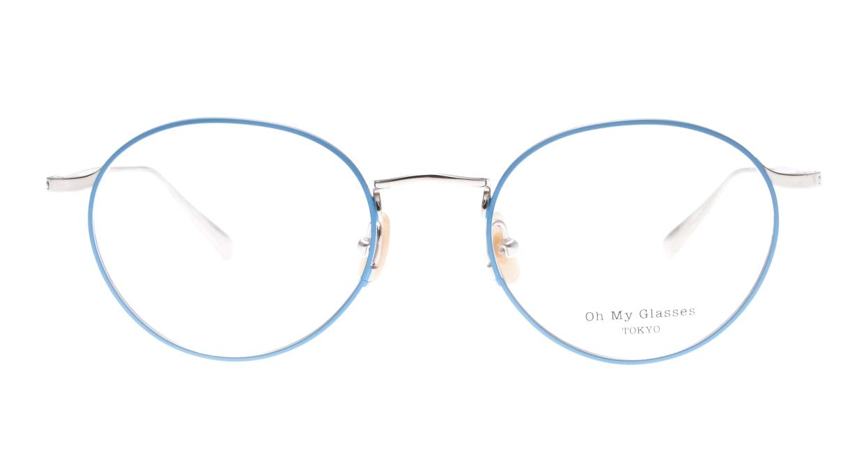 Oh My Glasses TOKYO Monica-50-omg-112-BL [メタル/鯖江産/丸メガネ/青]