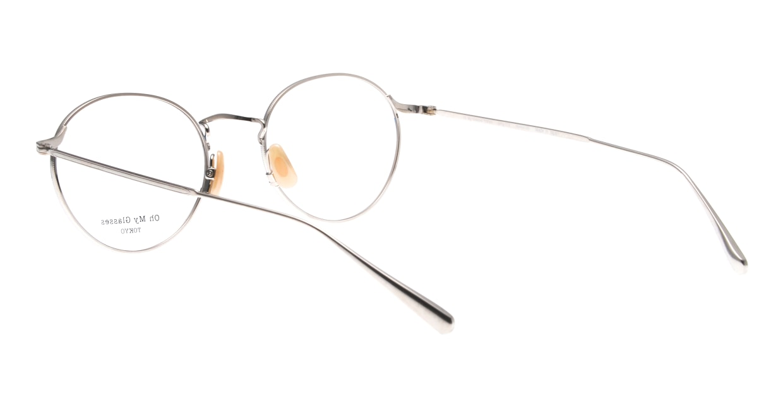 Oh My Glasses TOKYO Monica-50-omg-112-BL [メタル/鯖江産/丸メガネ/青]  3