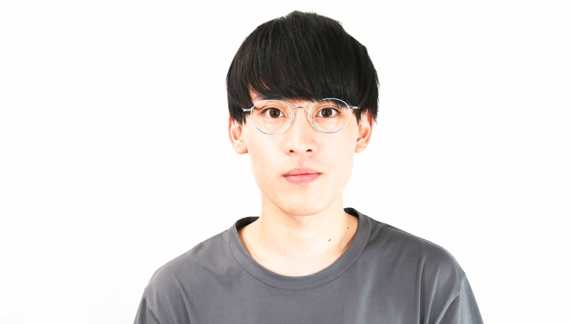 Oh My Glasses TOKYO Monica omg-112-BL-50 [メタル/鯖江産/丸メガネ/青]  5