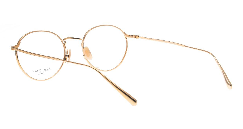 Oh My Glasses TOKYO Monica-50-omg-112-BR [メタル/鯖江産/丸メガネ/ピンク]  3