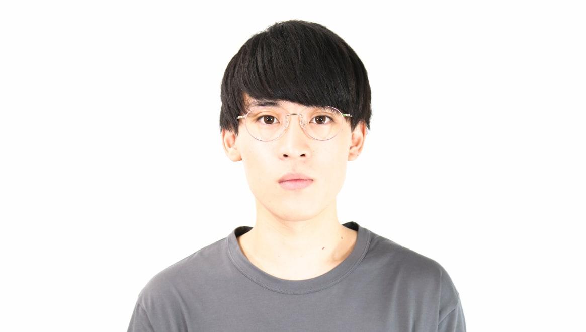 Oh My Glasses TOKYO Monica omg-112-BR-50 [メタル/鯖江産/丸メガネ/ピンク]  5