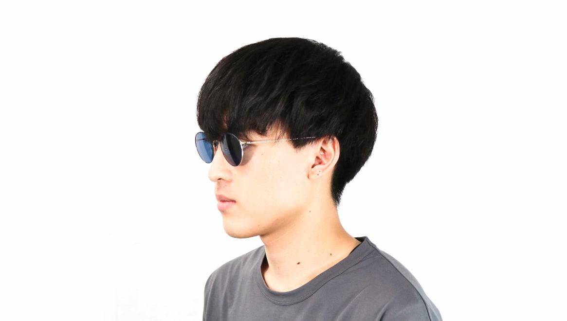 Oh My Glasses TOKYO Monica-50sg-omg-112-NV [メタル/鯖江産/ラウンド]  6