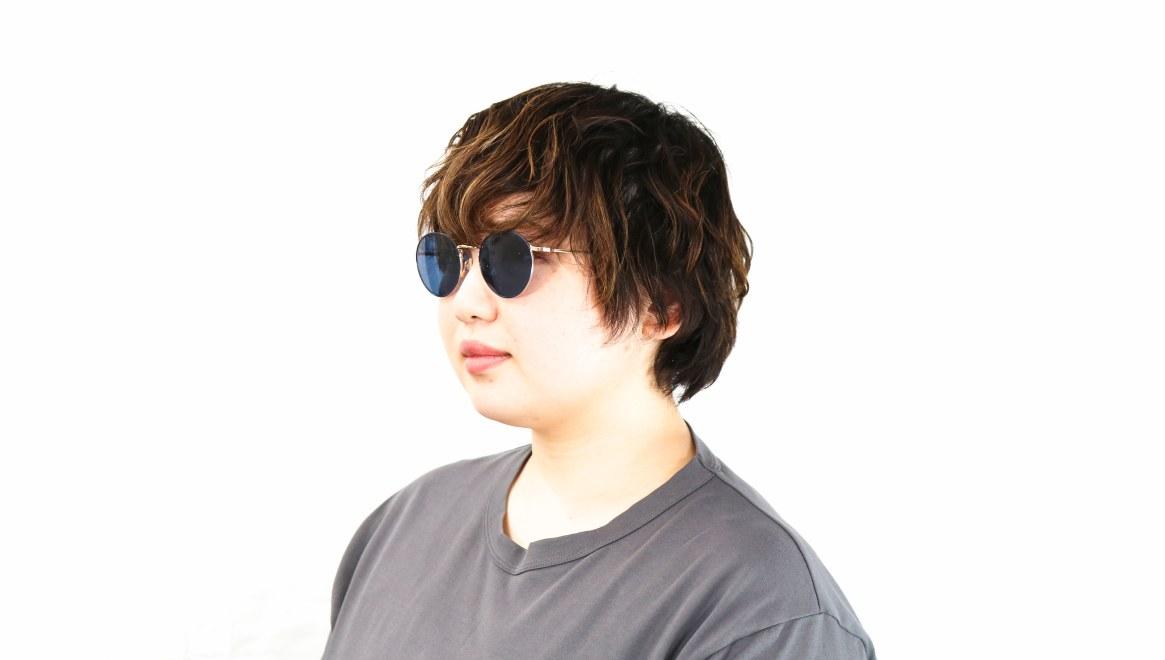 Oh My Glasses TOKYO Monica-50sg-omg-112-NV [メタル/鯖江産/ラウンド]  8