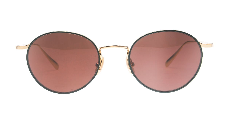 Oh My Glasses TOKYO Monica-50sg-omg-112-GR [メタル/鯖江産/ラウンド]