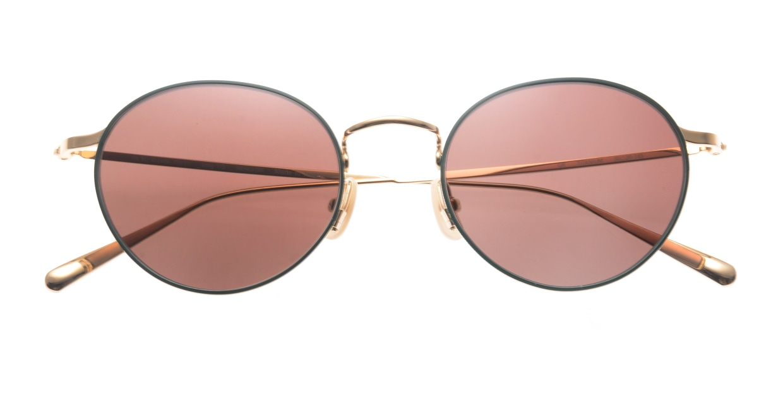 Oh My Glasses TOKYO Monica-50sg-omg-112-GR [メタル/鯖江産/ラウンド]  4