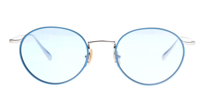 Oh My Glasses TOKYO Monica-50sg-omg-112-BL [メタル/鯖江産/ラウンド]
