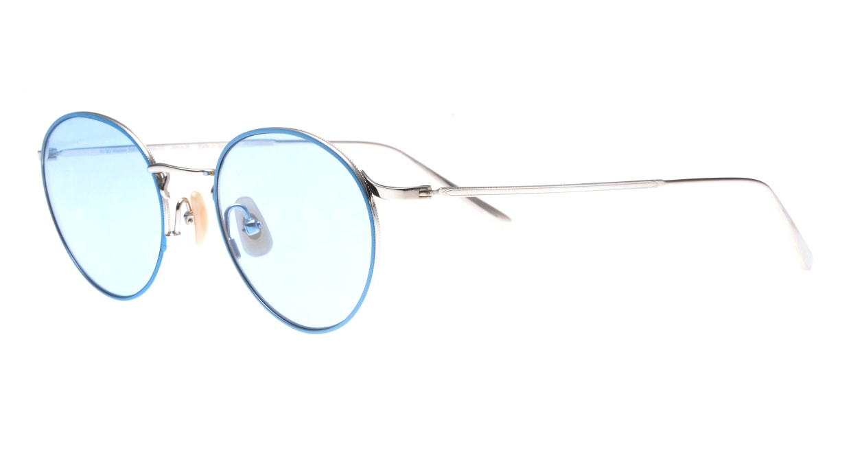 Oh My Glasses TOKYO Monica-50sg-omg-112-BL [メタル/鯖江産/ラウンド]  1