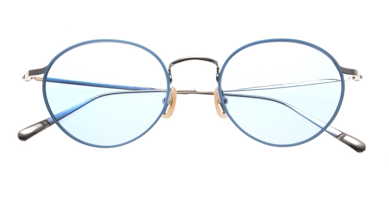 Oh My Glasses TOKYO Monica-50sg-omg-112-BL [メタル/鯖江産/ラウンド]  4
