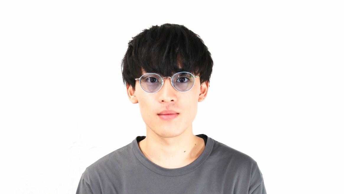 Oh My Glasses TOKYO Monica omg-112-BL-50-sg [メタル/鯖江産/ラウンド]  5