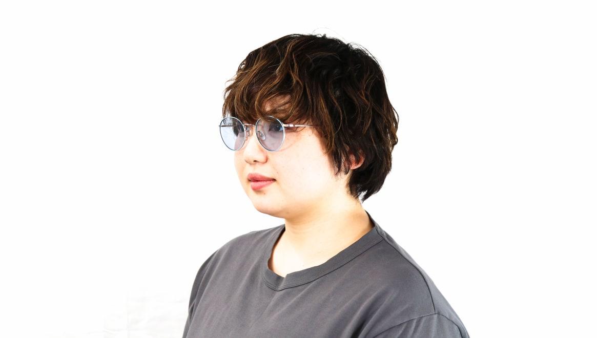 Oh My Glasses TOKYO Monica omg-112-BL-50-sg [メタル/鯖江産/ラウンド]  8