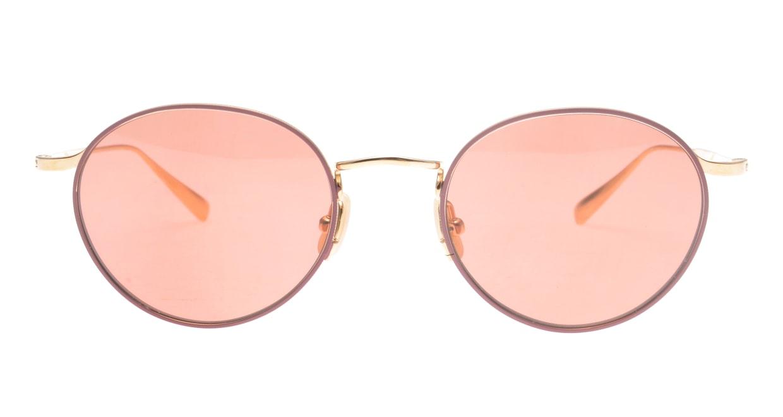 Oh My Glasses TOKYO Monica-50sg-omg-112-BR [メタル/鯖江産/ラウンド]
