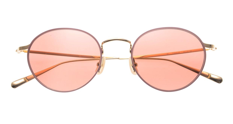 Oh My Glasses TOKYO Monica-50sg-omg-112-BR [メタル/鯖江産/ラウンド]  4