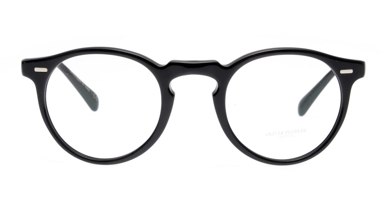 オリバーピープルズOV5186 GREGORY PECK-1005-47 [黒縁/丸メガネ]