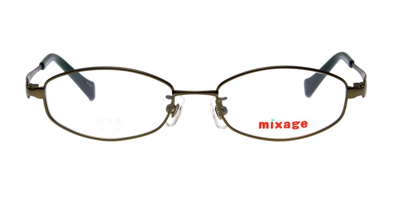 ミクサージュキッズ MXJ-701-3-48 [メタル/オーバル/緑]