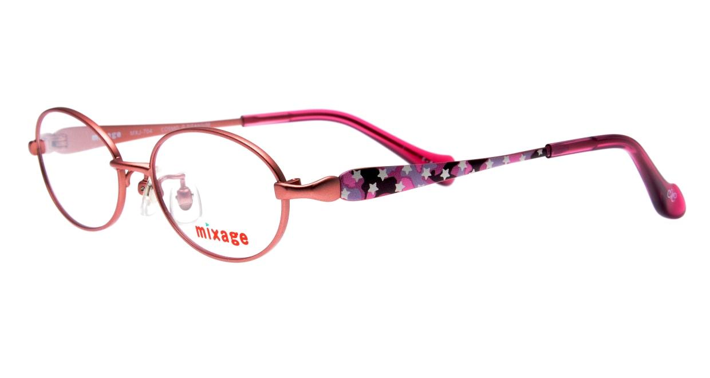 ミクサージュキッズ MXJ-704-2-46 [メタル/オーバル/ピンク]  1
