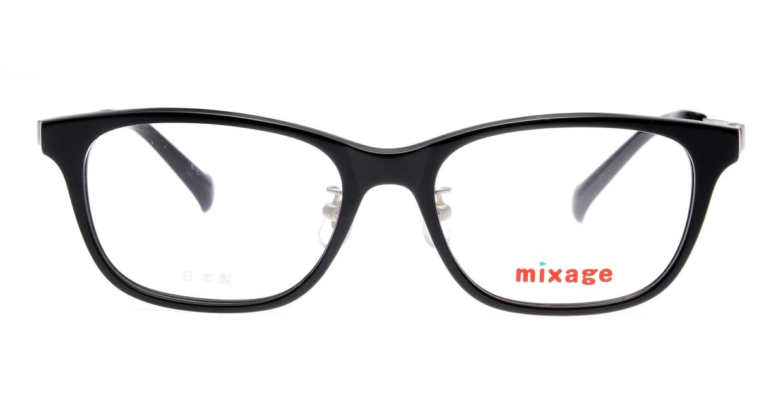 ミクサージュキッズ MXJ-708-1-49 [黒縁/ウェリントン]