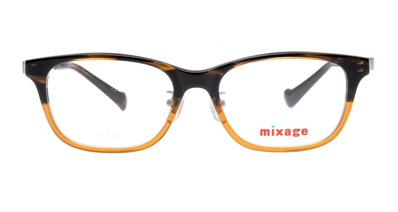 ミクサージュキッズ MXJ-708-3-49 [ウェリントン/茶色]