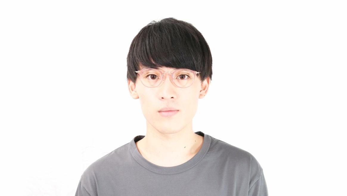 TYPE Caslon Light-08-PK-47 [鯖江産/丸メガネ/ピンク]  5