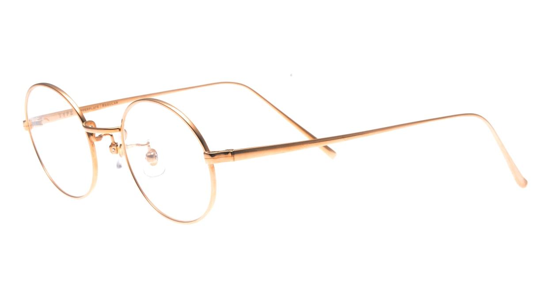TYPE Copperplate Regular-05-PKG-47 [メタル/鯖江産/丸メガネ/ゴールド]  1