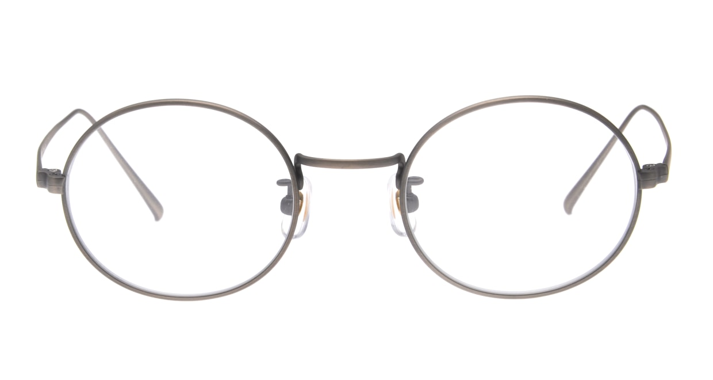 TYPE Copperplate Regular-06-ASV-47 [メタル/鯖江産/丸メガネ/グレー]