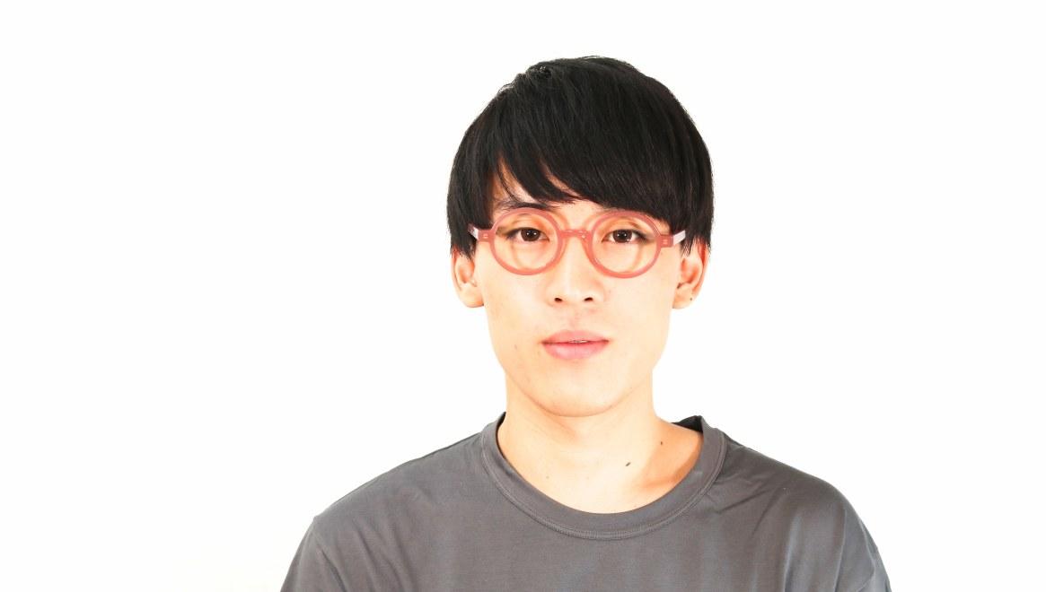 TYPE Futura-Regular-05-PK-45 [鯖江産/丸メガネ/ピンク]  5