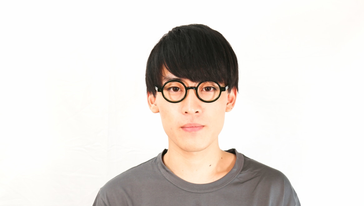 TYPE Futura-Regular-06-GN-45 [鯖江産/丸メガネ/緑]  5