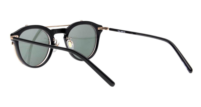 越前國甚六作 Seem Oh My Glasses TOKYOコラボ SP-001-C-1-48 [黒縁/鯖江産/丸メガネ]  3
