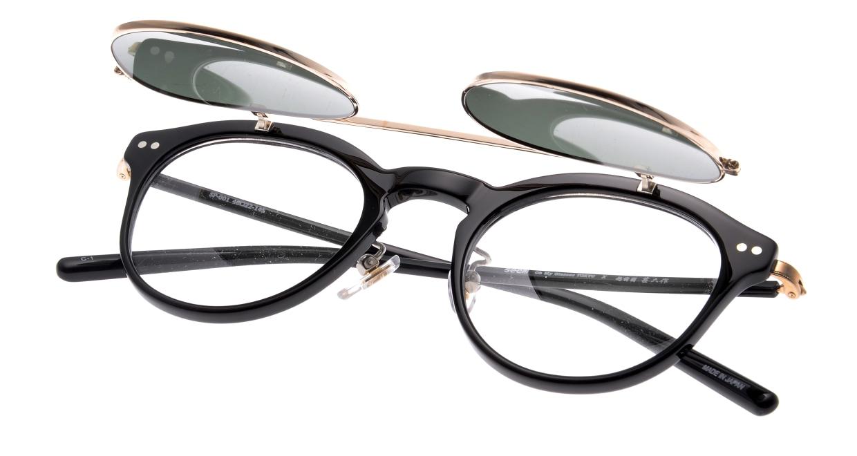 越前國甚六作 Seem Oh My Glasses TOKYOコラボ SP-001-C-1-48 [黒縁/鯖江産/丸メガネ]  4