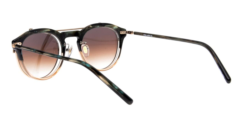 越前國甚六作 Seem Oh My Glasses TOKYOコラボ SP-001-C-5-48 [鯖江産/丸メガネ/緑]  3