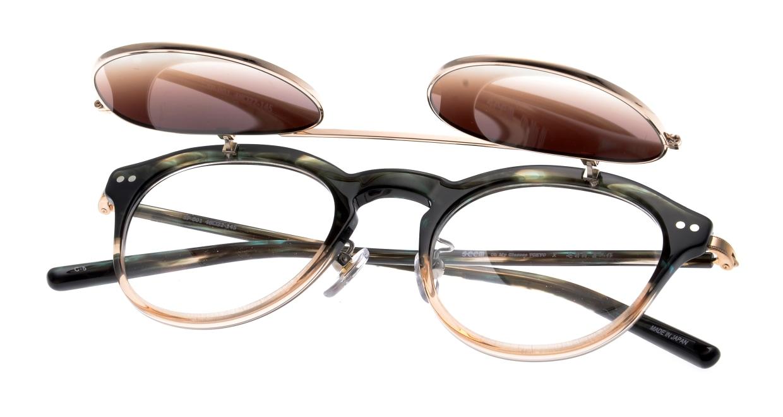 越前國甚六作 Seem Oh My Glasses TOKYOコラボ SP-001-C-5-48 [鯖江産/丸メガネ/緑]  4