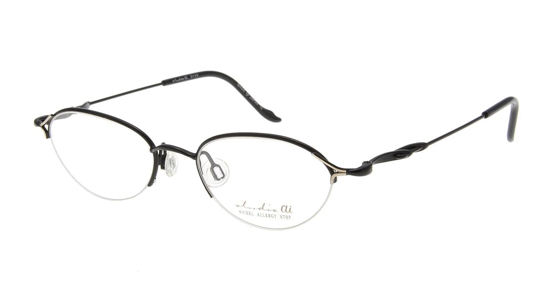 スタジオ アイ S-36-05 [メタル/鯖江産/ハーフリム/オーバル]