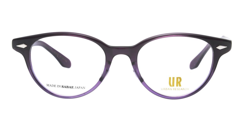 アーバンリサーチ URF 7011J-4-48 [鯖江産/丸メガネ/紫]