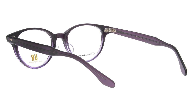 アーバンリサーチ URF 7011J-4-48 [鯖江産/丸メガネ/紫]  3