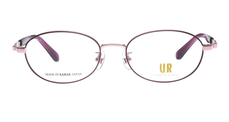 アーバンリサーチ URF 7016J-3-50 [メタル/鯖江産/ウェリントン/紫]