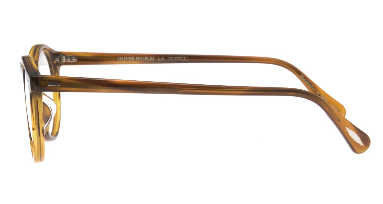 オリバーピープルズ OV5186A Gragory Peck-1011-47 [丸メガネ/茶色]  2