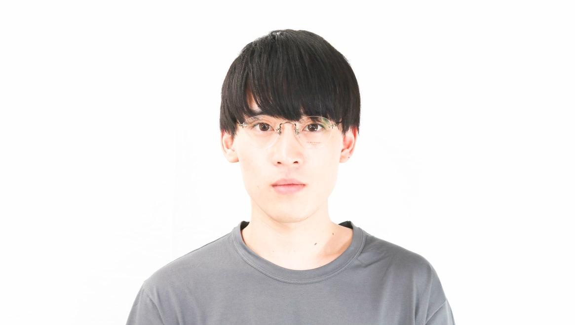 Oh My Glasses TOKYO omg-127 Aretha-ATG-47 [メタル/鯖江産/縁なし/丸メガネ/ゴールド]  5