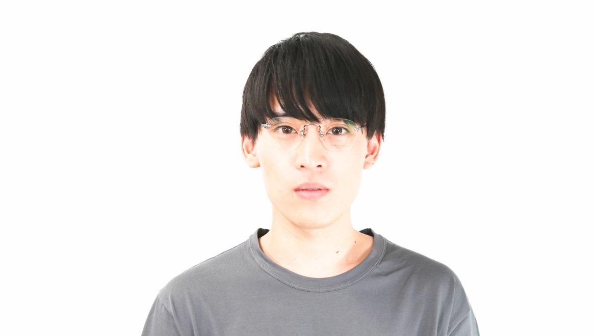 Oh My Glasses TOKYO Aretha omg-127-ATS-47 [メタル/鯖江産/縁なし/丸メガネ/シルバー]  5