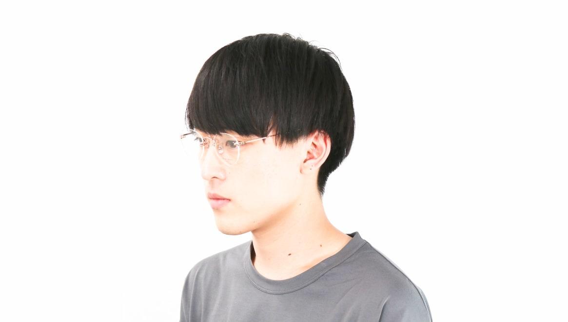 Oh My Glasses TOKYO Aretha omg-127-RG-47 [メタル/鯖江産/縁なし/丸メガネ/ゴールド]  6