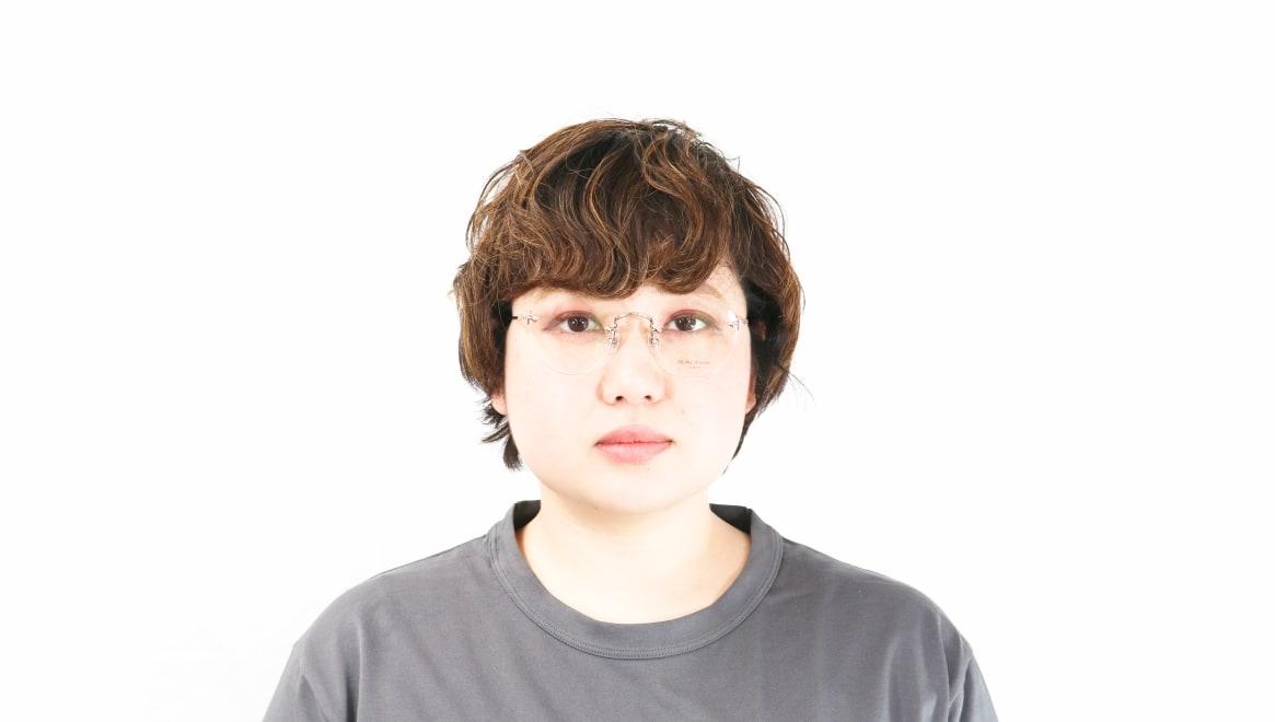 Oh My Glasses TOKYO Aretha omg-127-RG-47 [メタル/鯖江産/縁なし/丸メガネ/ゴールド]  7