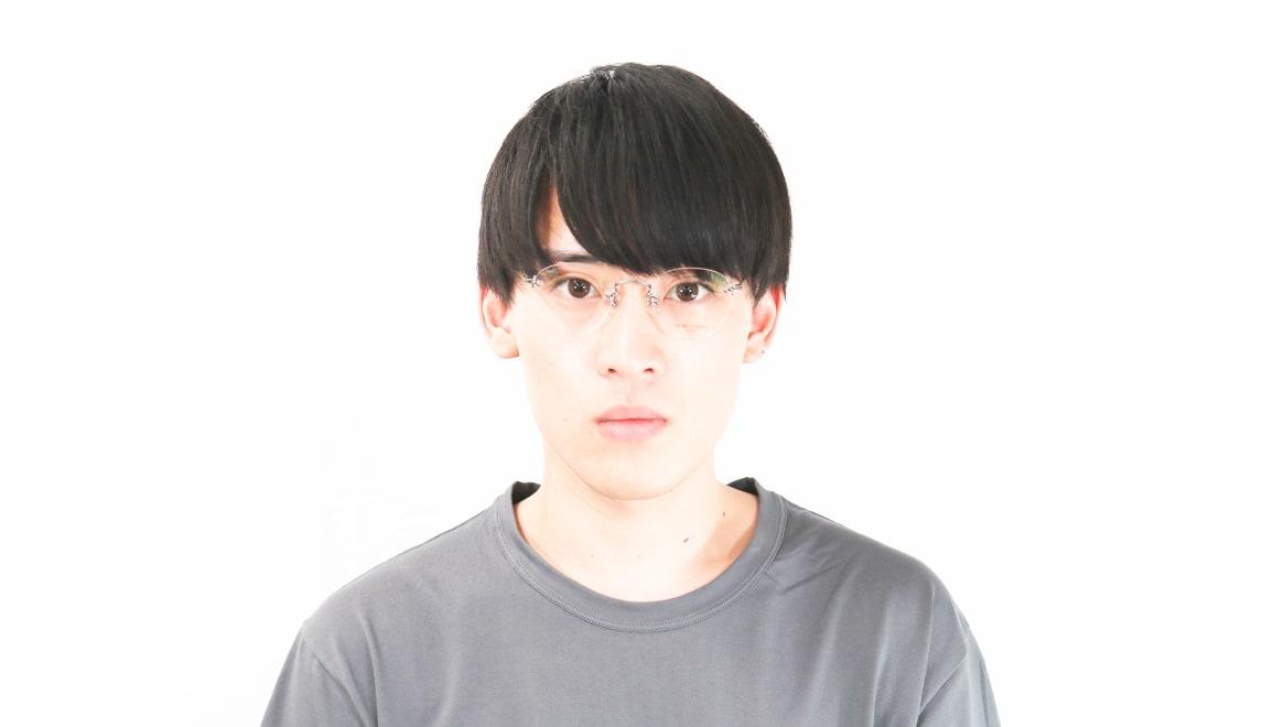 Oh My Glasses TOKYO omg-127 Aretha-GRY-47 [メタル/鯖江産/縁なし/丸メガネ/シルバー]  5