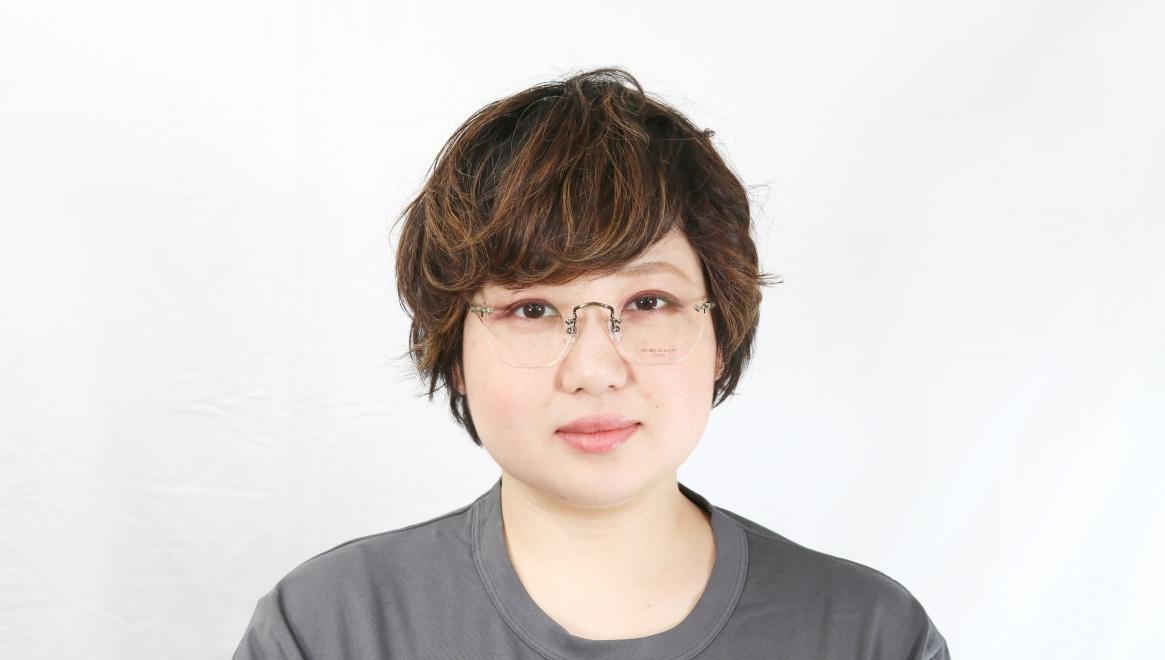 Oh My Glasses TOKYO Otis omg-128-ATG-48 [メタル/鯖江産/縁なし/ウェリントン/ゴールド]  7