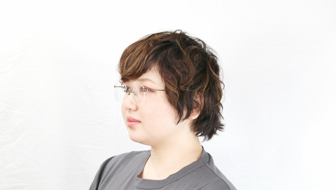 Oh My Glasses TOKYO Otis omg-128-ATG-48 [メタル/鯖江産/縁なし/ウェリントン/ゴールド]  8