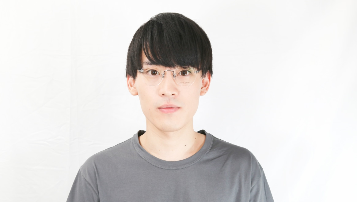 Oh My Glasses TOKYO Otis omg-128-ATS-48 [メタル/鯖江産/縁なし/ウェリントン/シルバー]  5