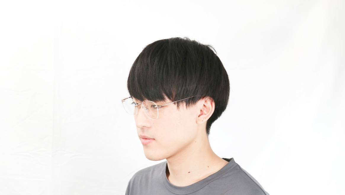 Oh My Glasses TOKYO Otis omg-128-RG-48 [メタル/鯖江産/縁なし/ウェリントン/ゴールド]  6
