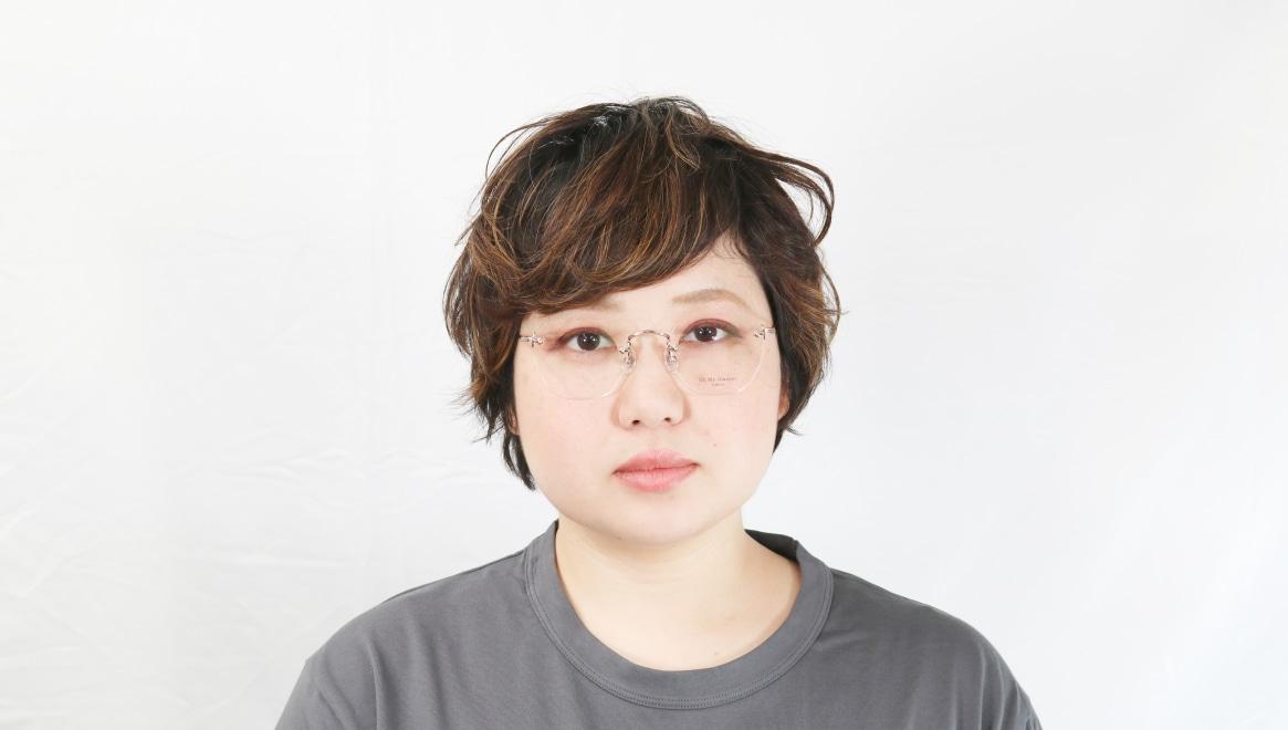 Oh My Glasses TOKYO Otis omg-128-RG-48 [メタル/鯖江産/縁なし/ウェリントン/ゴールド]  7