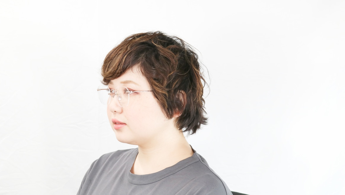 Oh My Glasses TOKYO Otis omg-128-RG-48 [メタル/鯖江産/縁なし/ウェリントン/ゴールド]  8