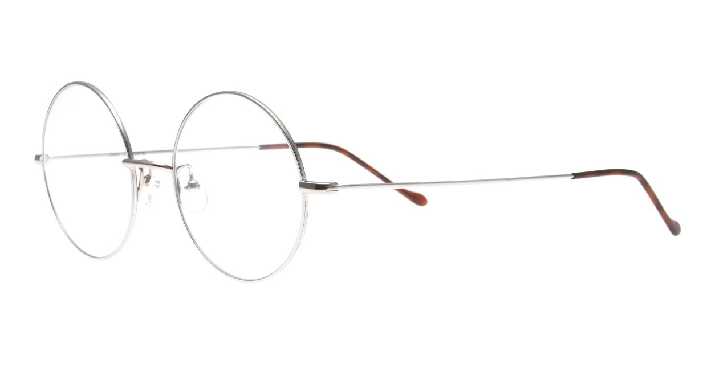 ユニオン アトランティック UA3614-12-48 [メタル/鯖江産/丸メガネ/シルバー]  1