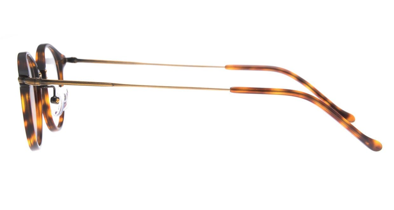 ユニオン アトランティック UA3617-RBDM-45 [鯖江産/丸メガネ/べっ甲柄]  2
