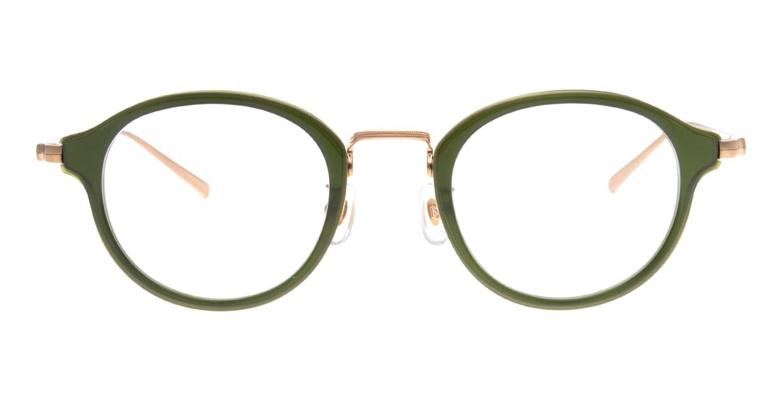 type Plantin-GR-47 [鯖江産/ウェリントン/緑]
